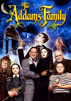 Addams Family Values Poster Style B 13x19 inches