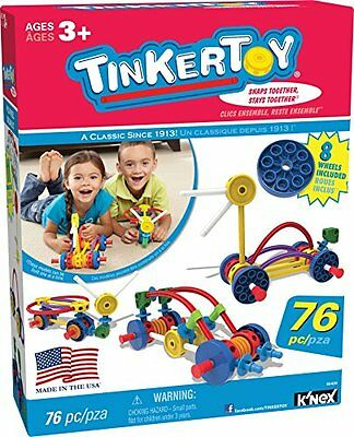 Tinkertoy Wild Wheels Building Set Play Durable New