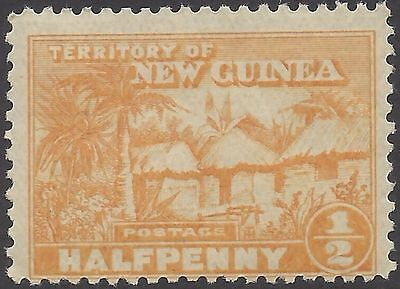 New Guinea 1925 ½d NATIVE VILLAGE (1) Unhinged Mint SG 125
