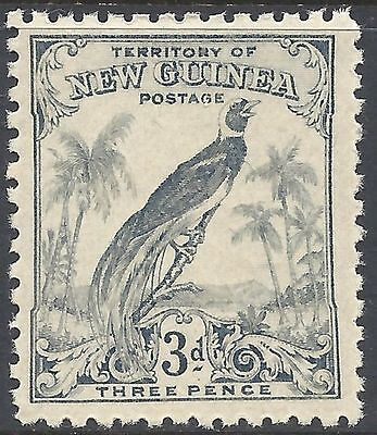 New Guinea 1932 3d BLUE BIRD OF PARADISE Unhinged Mint SG 180 (M113)