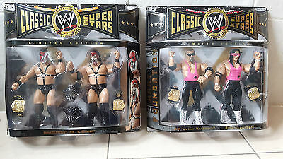 Wwe Hart Foundation & Demolition Classic Superstar Figures - Limited Edition Wwf
