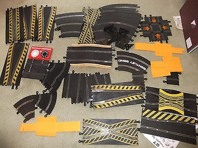 Scalextric track all the not normally in set pieces cross roads banking bridge