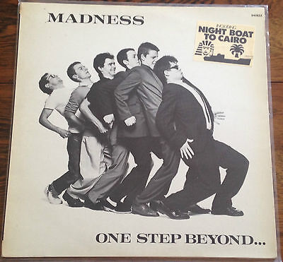 MADNESS - ONE STEP BEYOND - French  STIFF LP 'Cairo' stickered sleeve