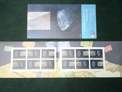 Greenland Stamp Booklet #16 2008 MNH EUROPA Letter Writing - EXCELLENT!