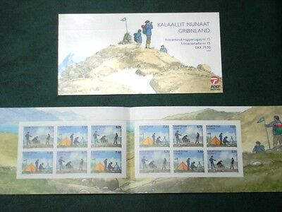 Greenland Stamp Booklet #15 2007 MNH EUROPA Scouts Girl Guides - EXCELLENT!