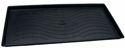 Dial Industries 22304 Large Black Plastic Boot & Utility Tray New