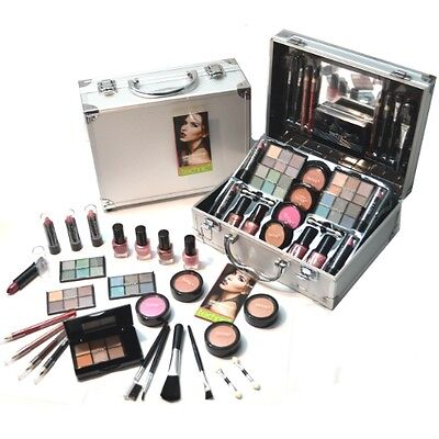 Beauty Kosmetik Make-up Large ALU Schminkkoffer 48 teilig (644)