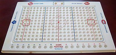Post  Marbles Hockey Rink 1968-1969 Montreal Candians &Toronto Maple Leafs