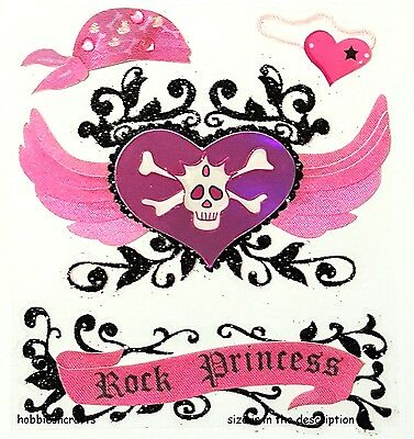 Jolee's Boutique, Heart, Skull/crossbone  Rock Princess