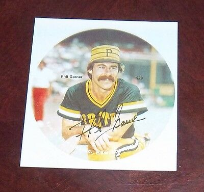 Phil Garner Pittsburgh Pirates 1978 player photo Baseball