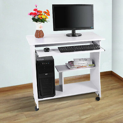 Home Office Furniture Computer PC Desk Wood Laptop Table Study Workstation New
