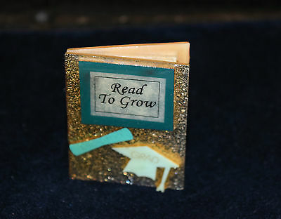 Read To Grow Book Pin Brooch Book Pins  By Lucinda