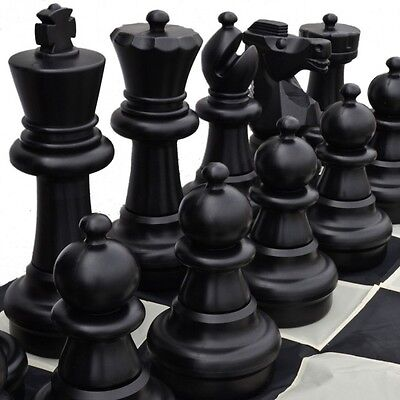 Large 60cm (24 Inch Height of King) Plastic Chess Pieces