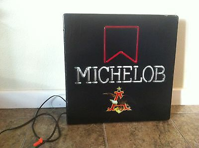 Antique Michelob Lighted Beer Sign - Very Unique!