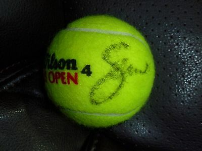 Serena And Venus Williams Autographed Us Open Tennis Ball