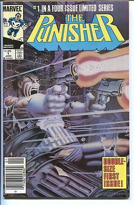 Punisher #1 First Double Size Issue Marvel 1985 Nm-