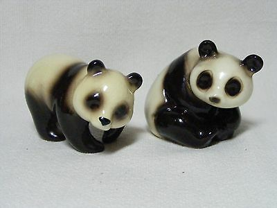 Vintage Goebel Panda Bears Black & White