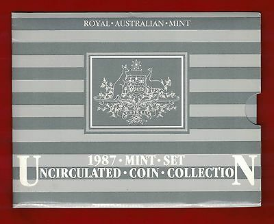 1987 Royal Australian Mint Uncirculated Coin Collection