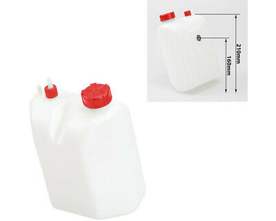 Petrol / Fuel Tank 3 Litre Quick Release Type Red Caps UK KART STORE