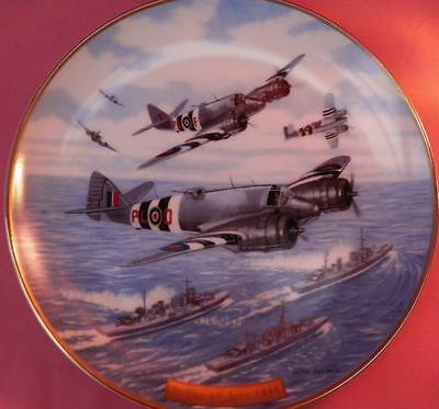 Davenport Stirlings Over Enemy Lines Plane Plate D-Day: Guardians Of The Sky Box