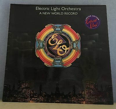 ELECTRIC LIGHT ORCHESTRA A New World Record 1976 RED vinyl LP EXCELLENT ELO