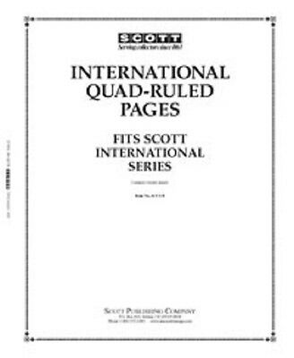 Blank Quadrille Pages International Border (20 Pages) Acc131