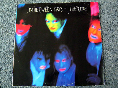 "The Cure-In Between Days 12"" Single- Fiction Ficsx.22 1985 + Picture Sleeve"