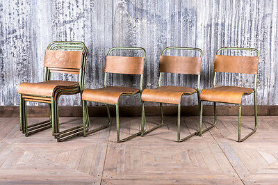 Vintage Stacking Chairs Industrial Stackable School Chairs Retro Classroom Chair
