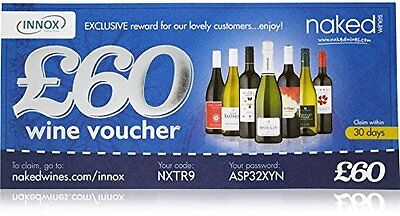 Naked Wines £60 Gift Voucher