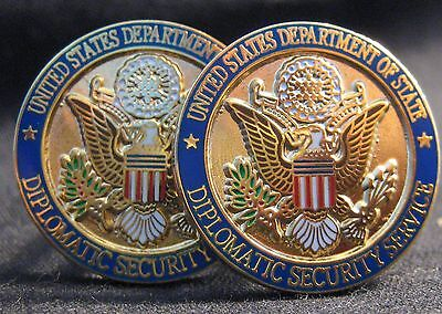 Diplomatic Security/State Dept/ Presidential Cufflinks