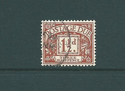SG D3 Postage Due - Royal Cypher watermark - Fine Used CDS