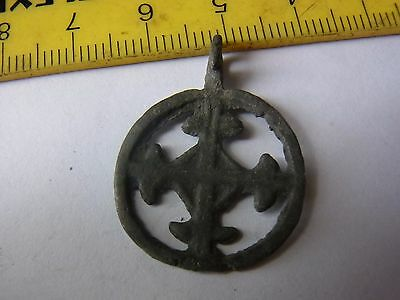 Ancient Bronze Casting Pendant !!!