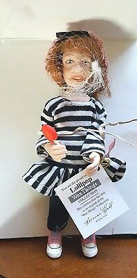 Wee Things Porcelain Doll Lollipop, Roxanne Hall New In Box, Numbered 1120/4000