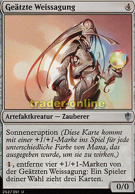 Commander 2014 Magic 4x Orakel aus Seetor Sea Gate Oracle