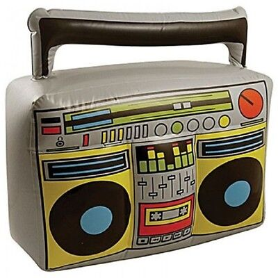 Inflatable Boom Box, Blow Up, Fancy Dress, Accessory - Box Stereo Party