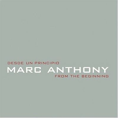 Marc Anthony - Desde Un Principio: From the Beginning [New CD]