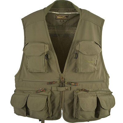 """Snowbee Classic Fly Vest - 11621 -Adult Size XXL - Chest 46""""/48"""""""