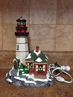 Department 56 Christmas Cove Lighthouse Collectible Figurine 56.54836