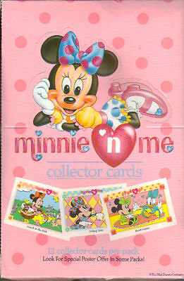 Minnie Mouse Trading Card 36 Sealed Packs