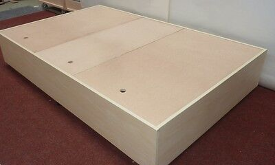 Wooden Storage Bed Frame Available In 4 fit