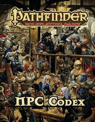 Pathfinder Roleplaying Game: NPC Codex by Jason Bulmahn (English) Hardcover Book