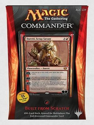 Sealed Commander 2014 Built From Scratch MTG Commander  NEW -Kid Icarus-