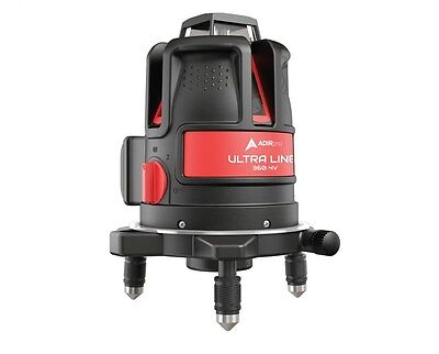 AdirPro Ultra Liner 4V 360 Degree Point and Cross Line Laser  LEVEL 790-43