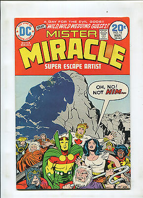 Mister Miracle #18 (7.0) Darkseid Cover!