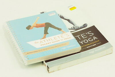 """NEW """" The Athlete's Guide to Yoga"""" + """"The Athlete's Pocket Guide to Yoga"""" Books"""