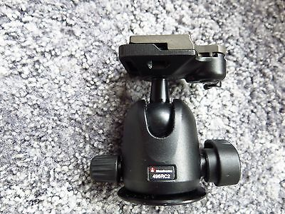 Manfrotto ball head 496RC2 VGC.BOXED.EXC++