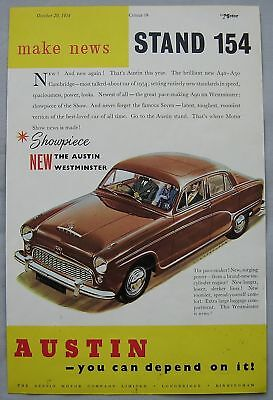 1954 Austin Original advert No.1