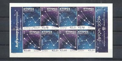 (933931) Europe, Booklet, Astronomy, Cyprus