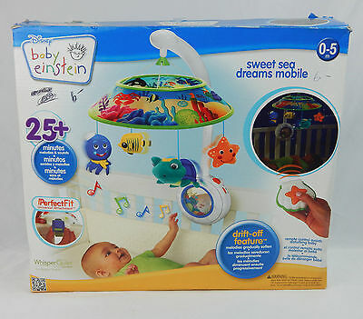 Baby Einstein Sweet Sea Dreams Crib Mobile Soother Musical MISSING REMOTE