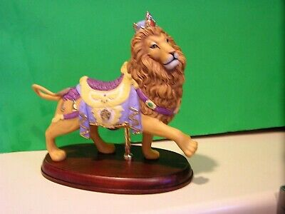LENOX LION CAROUSEL sculpture NEW in BOX Horse